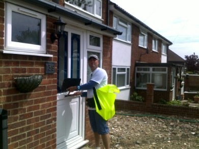 & Yard Birds Flyer Distribution and Home Delivery